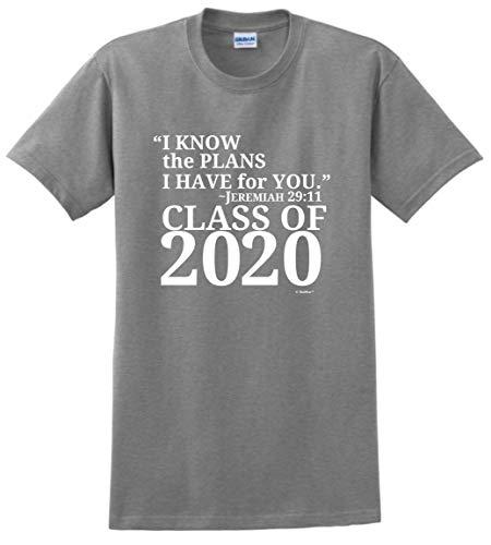 Christian Graduation Gift Jeremiah 29:11 Class 2017 T-Shirt
