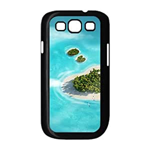 Heart Island Samsung Galaxy S3 Cases, Vety {Black}