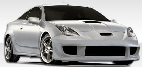 2000-2005 Toyota Celica Duraflex GT300 Widebody Kit - Includes GT300 Widebody Front Bumper (104508), GT300 Widebody Rear Bumper (104509), GT300 Widebody Sideskirts (104510), GT300 Widebody Front Fenders (104511), and GT300 Widebody Rear Fender Flares (104512) - Duraflex Body Kits
