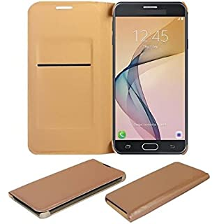 COVERNEW Flip Cover for Asus Zenfone 3 Laser ZC551KL  5.5 inches    Golden LeatherFlipZenfone3Laser 5.5  Golden