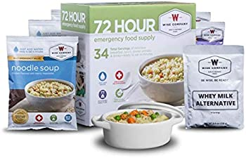 Wise Company 72 Hour Emergency Food Supply 48.2 Oz