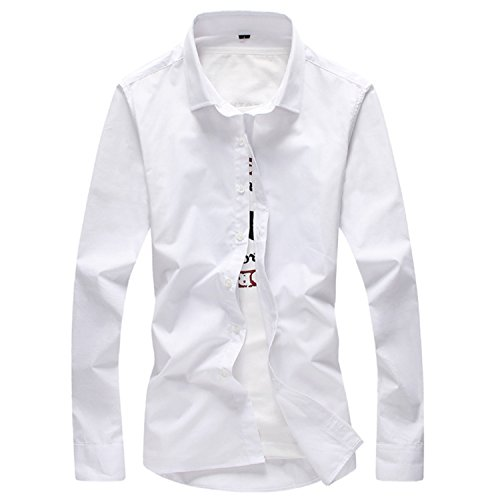 Casual Shirt Men Long Sleeve