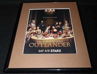 Outlander 2016 Starz 11x14 Framed ORIGINAL Advertisement Caitrona Balfe B