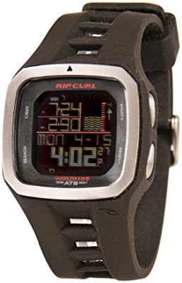 Rip Curl Trestles Pro World Tide and Time Watch BLACK A1100 ...