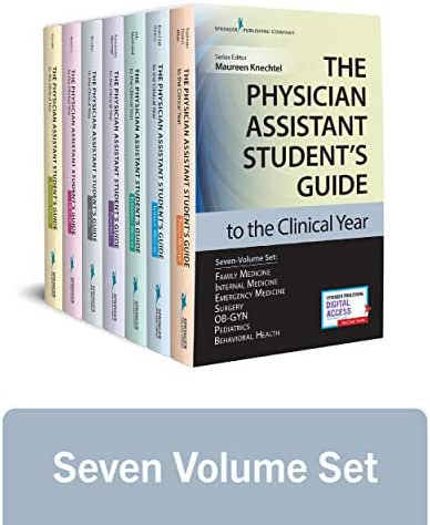 The Physician Assistant Student's Guide to the Clinical Year Seven-Volume Set