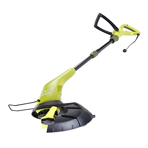 Sun Joe SB601E Sharper Blade Stringless Electric Trimmer/Edger, Green (Best Cordless Weed Trimmer 2019)