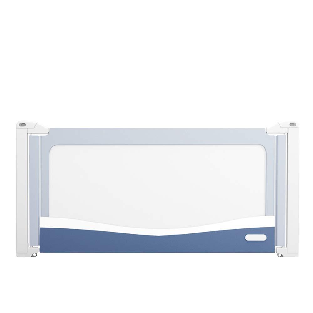 XIAOMEI,ベッドフェンス ベッドガードレールチャイルドガードレール新生児ガードレールポータブルガードレールミュート垂直リフトガードレール7の高さ調節可能 家庭、屋外で使用されます (Color : Blue, Size : 150CM) 150CM Blue B07TMS5K41