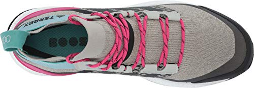 adidas outdoor Terrex Free Hiker Boot - Men's Sesame/Raw White/Real Magenta, 7.5 by adidas outdoor (Image #1)