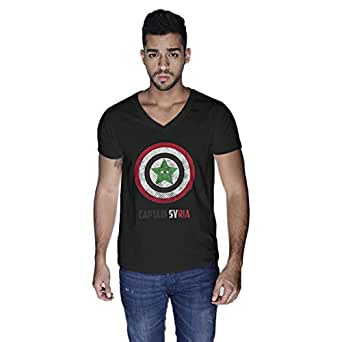 Creo Captain Syria T-Shirt For Men - Xl, Black