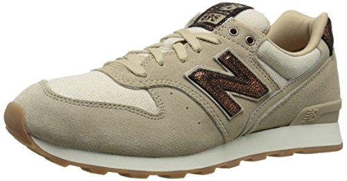 Ny Balanse Kvinners Wl696 Kapsel Pakke Klassisk Sneaker Sandstein