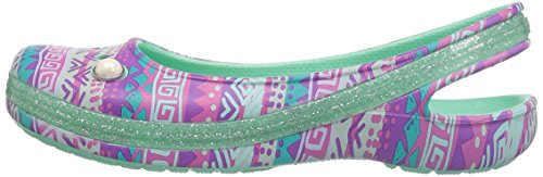 Pictures of Crocs Kids' Genna II Graphic Sparkle Sling- 5