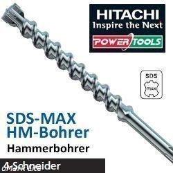 Hitachi SDS-Max Foret pour perceuse super 18  x 800  mm Longueur totale 920  mm SDS-Max-Bohrer