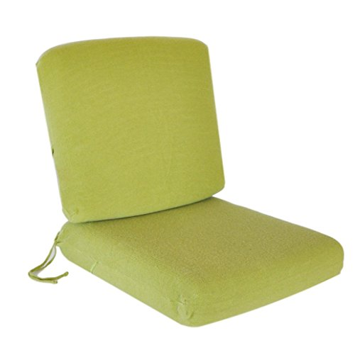 SALE - Save 25% - CushyChic Outdoors Terry Slipcovers for Deep Seat Cushions in Fern - Slipcovers ONLY - Cushion Inserts NOT Included (Outdoor Cushion Slipcover)