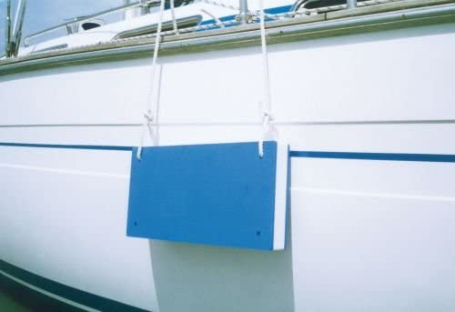 wellenshop Protector para el costado de las embarcaciones espuma de polietileno color azul y blanco