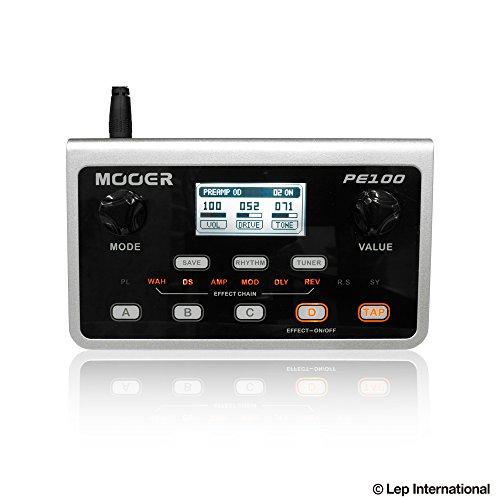 [해외] MOOER / PE100 Portable Multi Effects 무아― 멀티 이펙터
