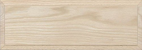 Unfinished Oak Flat Drawer Front with Edge Detail by Kendor, 6H x 17W ()