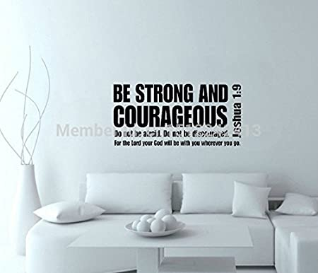 josué be strong and courageous 1 9 bible verse to mother writing