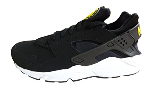 Nike Air Huarache, Scarpe da Ginnastica Uomo black tour yellow white 007