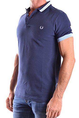 Fred Perry Herren MCBI128128O Blau Baumwolle Poloshirt