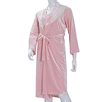 LADIES FULL SLEEVE MIDI WITH GOWN LIGHT PINK
