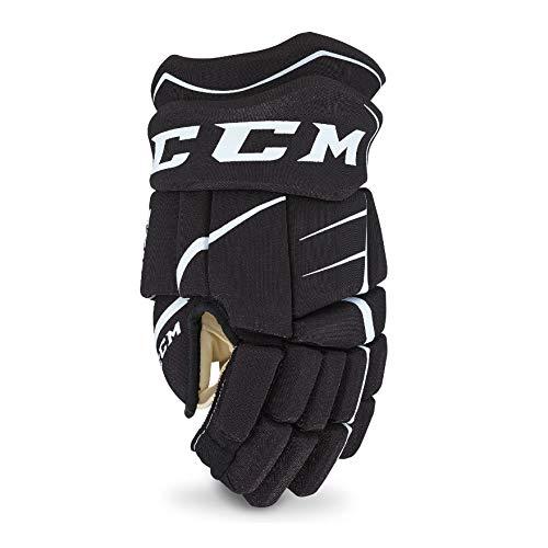 CCM Jetspeed Ft350 Senior Hockey Gloves Black/White 13