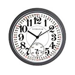CafePress - Hamilton Railroad Pocket Watch - Unique Decorative 10 Wall Clock