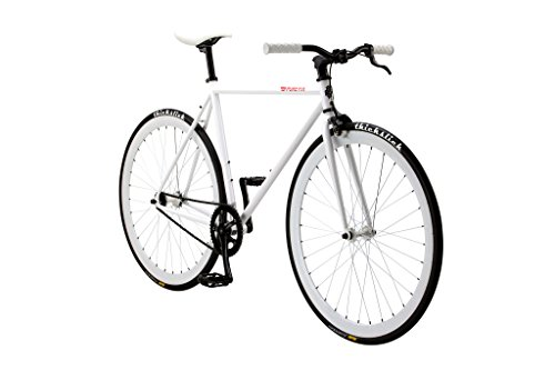 Pure Fix Original Fixed Gear Single Speed Bicycle, Romeo Whi