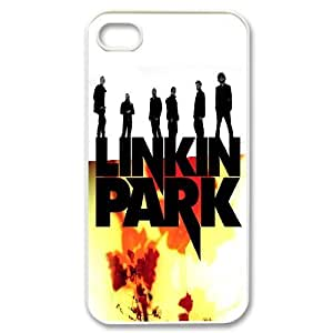 James-Bagg Phone case Linkin Park Rock Music Band Protective Case For Iphone 4 4S case cover Style-8