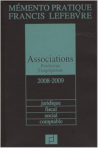 Téléchargement Associations, fondations, congrégations pdf