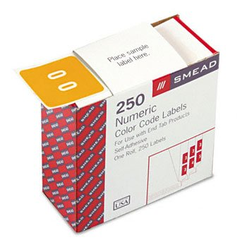 smead-dcc-color-coded-numeric-label-0-label-roll-yellow-250-labels-per-roll-67420