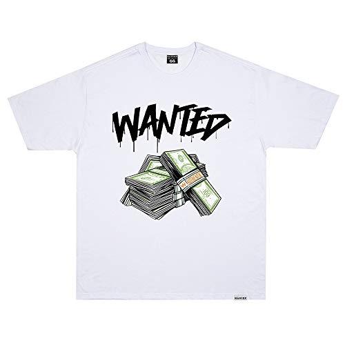 Camiseta Wanted - Authentic Branco Cor:Branco;Tamanho:G