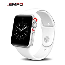Lemfo LF07 Bluetooth Smart Watch 2.5D ARC HD Screen Support SIM Card Wearable Devices SmartWatch For IOS Android , arm green