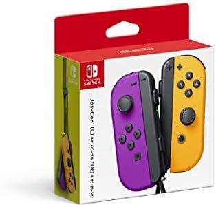 Nintendo Neon Purple/Neon Orange Joy-Con (L-R) - Switch (Japan Import)