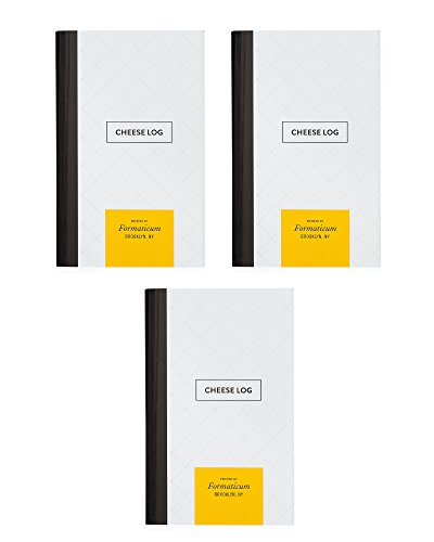 Formaticum Cheese Log - Pocket Journal - QTY 3 by Formaticum