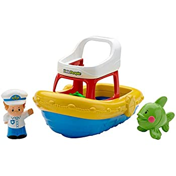 New Free Shipping Fisher-Price Stackin` Tubtime Boat
