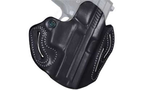Desantis Speed Scabbard Holster fits 4-Inch Colt Python, Trooper, Right Hand, Black