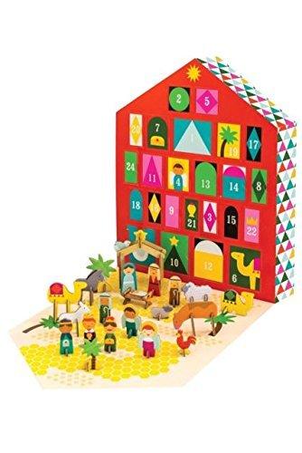 Petit Collage Nativity Pop-Out Advent Calendar
