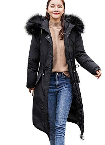 09493223ac2de EASTEMPO ダウンコート レディース ロング コート 秋冬 中綿 ダウンジャケット 厚手 防風 防寒 大きいサイズ