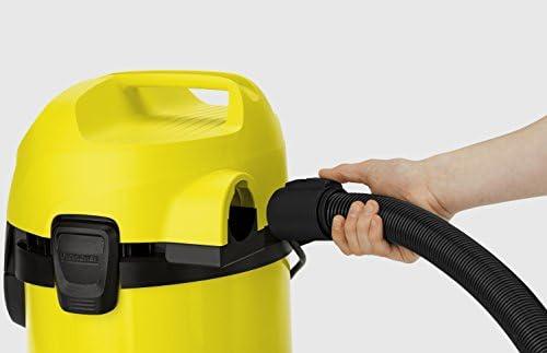 Kärcher aspirateur sec et humide, 1000W, Noir/jaune, WD 3 1000W
