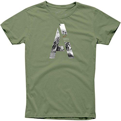 Alpinestars Mens Capita Short-Sleeve Shirt Large (Capita T-shirt)