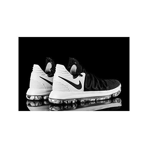 white Scarpe Uomo Black Basket Zoom Black Nike da Kd10 8n4xWqa