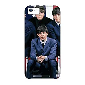Protective Cell-phone Hard Cover For Iphone 5c (xVB5865kaSP) Custom HD The Beatles Skin