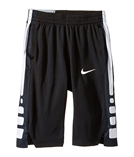 Nike Boy's Dry Basketball Short Black/White Size Medium