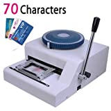 Ariic Brand New 70-Manual Embosser Credit ID Plastic PVC Card Manual Embossing Machine