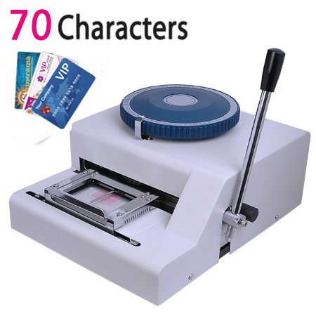 Ariic Brand New 70-Manual Embosser Credit ID Plastic PVC Card Manual Embossing Machine by Ariic