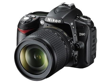 Nikon D90 SLR-cámara Digital (12 megapíxeles, Live-View, HD ...