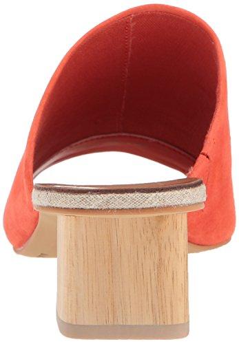 Dolce Vita Damen Kaira Slide Sandale Orange Wildleder