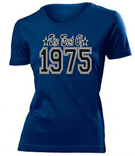 THE BEST OF 1975 - DELUXE - Birthday mujer camiseta Tamaño S to XXL varios colores Marina