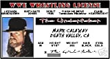 THE Undertaker - WWE Wrestling - Collector Card