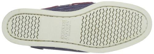 Sebago - DOCKSIDES, Stivali da Donna Blu (Blau (Navy Foil Emb)